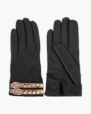Picture of Fringed Leather Gloves
